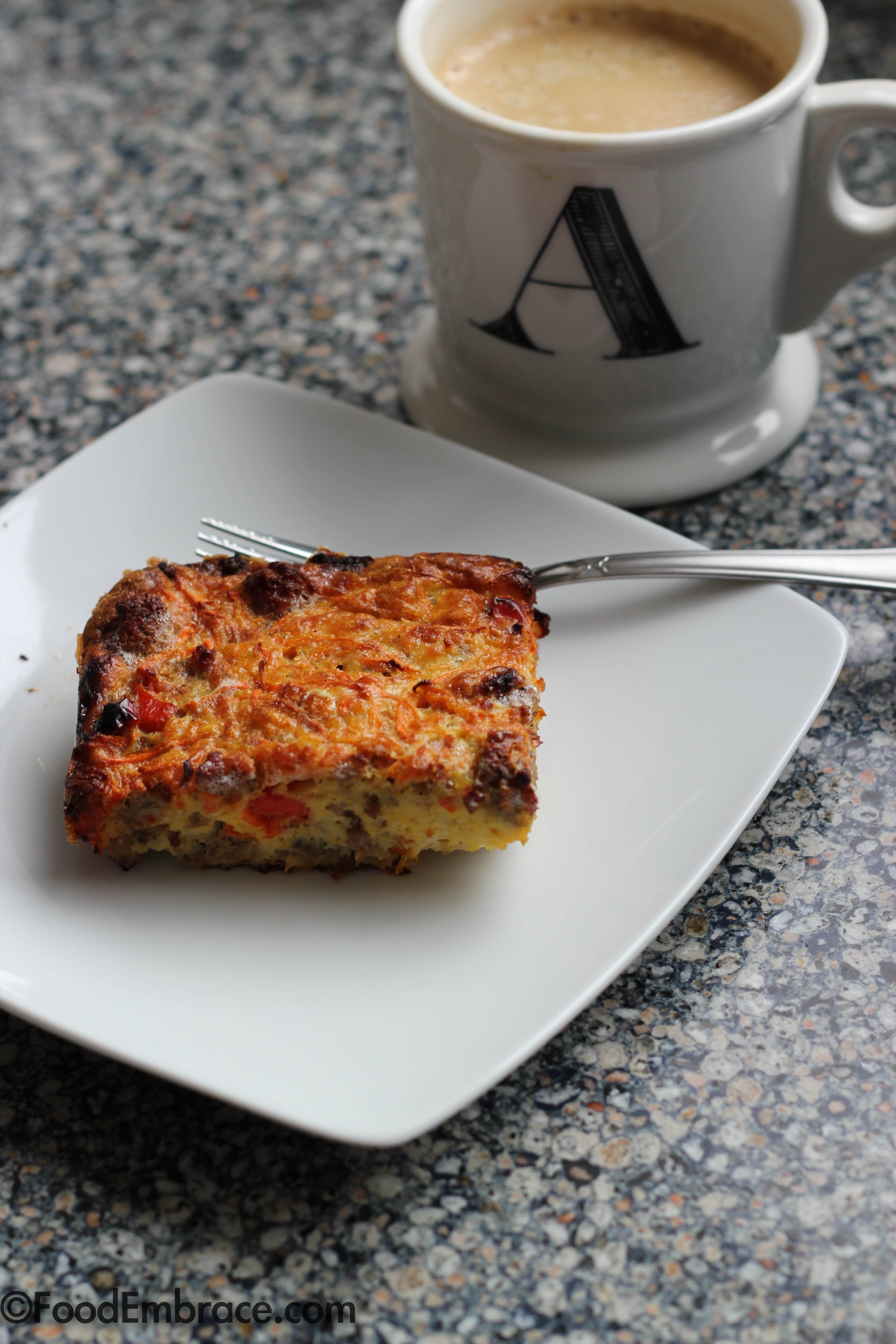 Frittata and Coffee